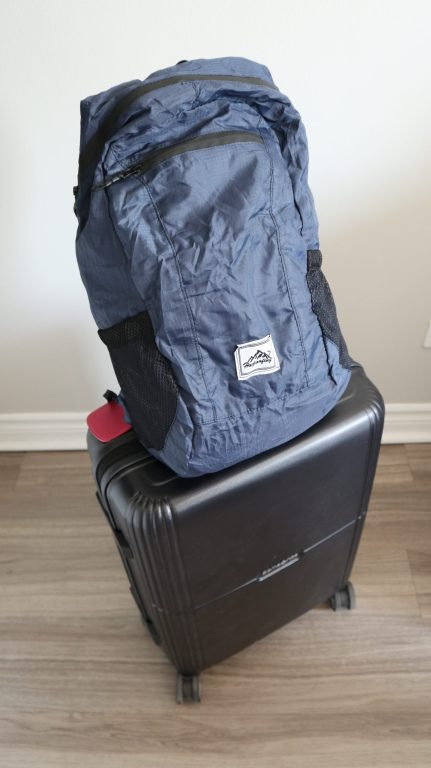 sac à dos valise cabine