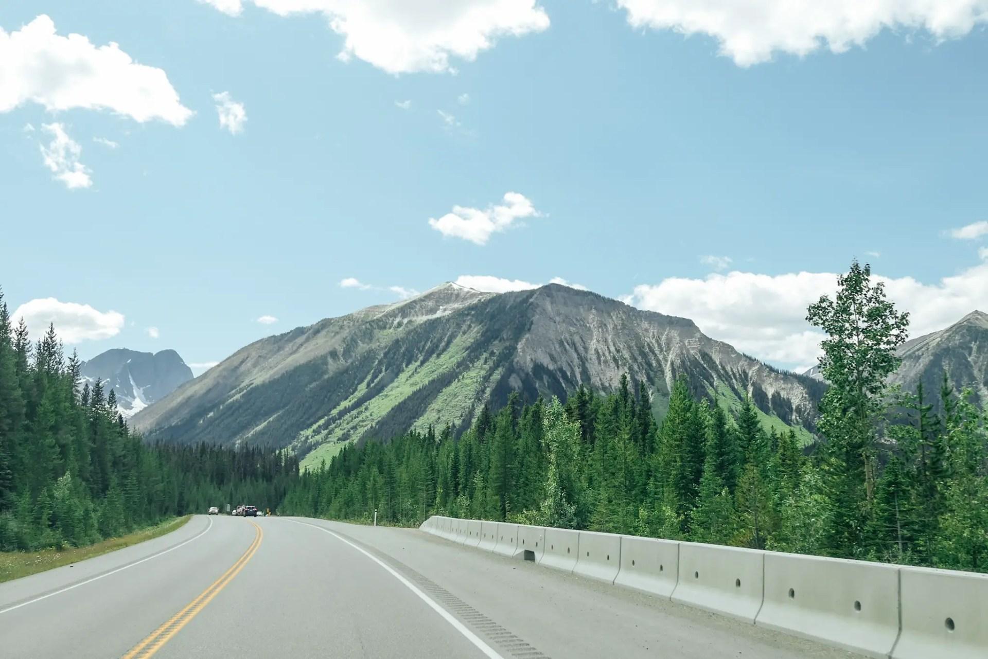 route colombie britannique canada