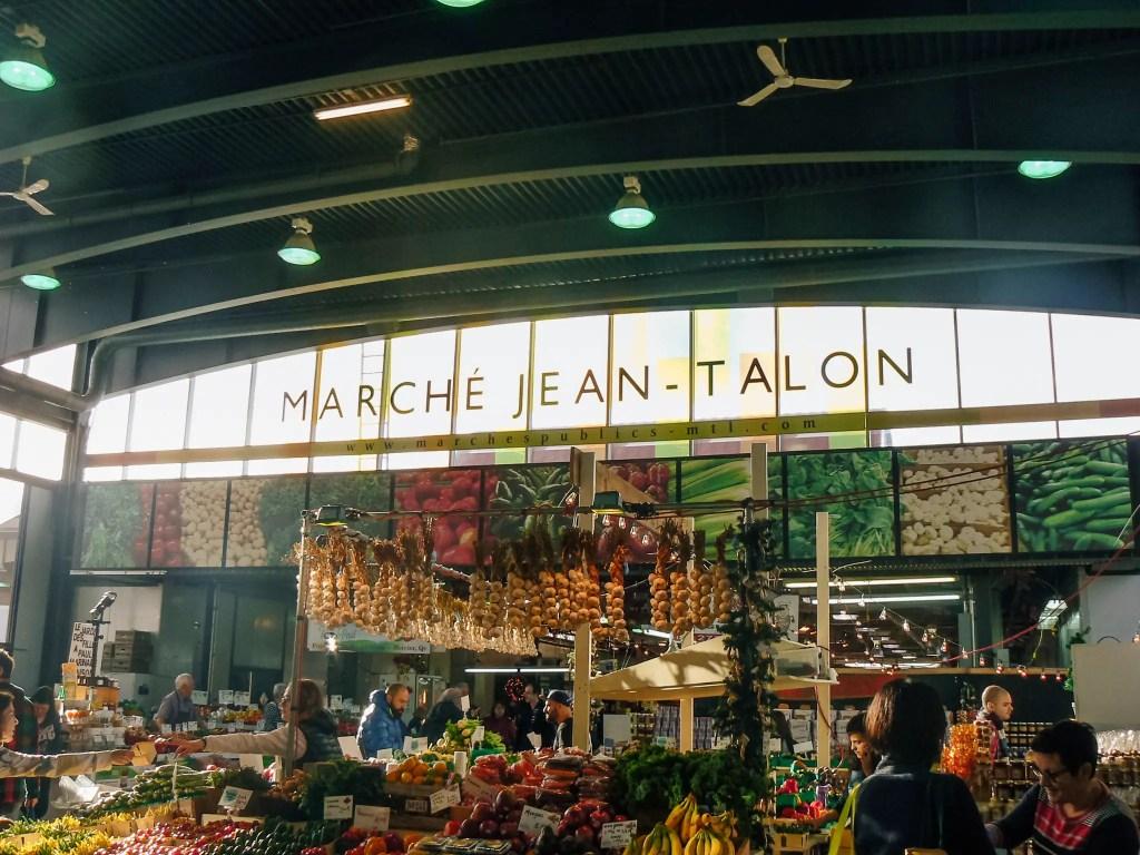 marché jean talon montréal