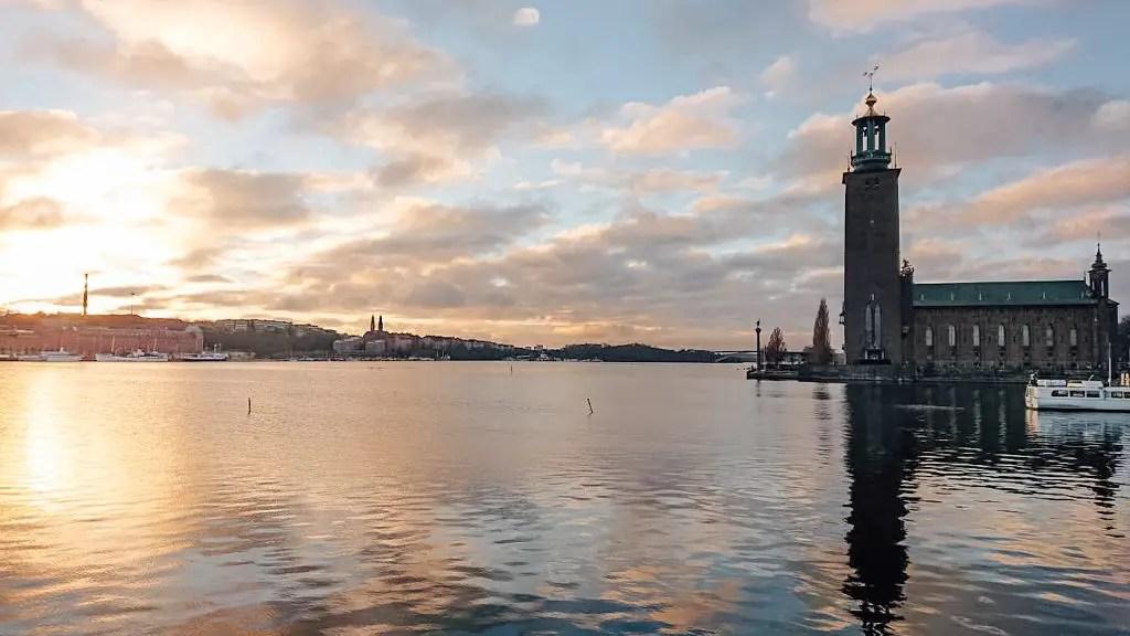 vue stockholm suède europe