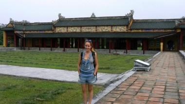 voyager seule au vietnam citadelle de hué