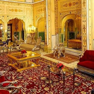 Shahi Mahal Suite at Raj Palace