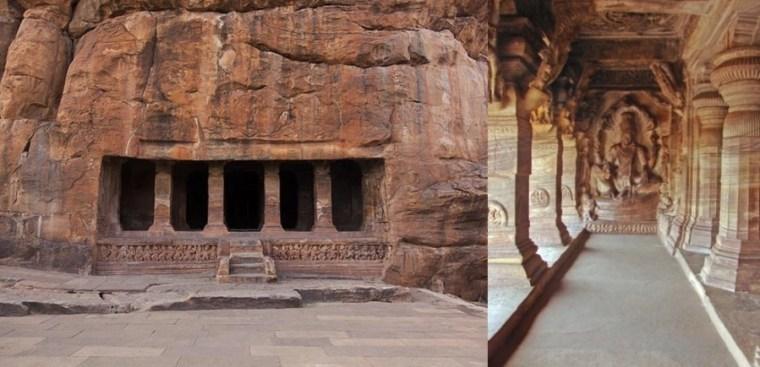 Badami Cave Temples, Karnataka