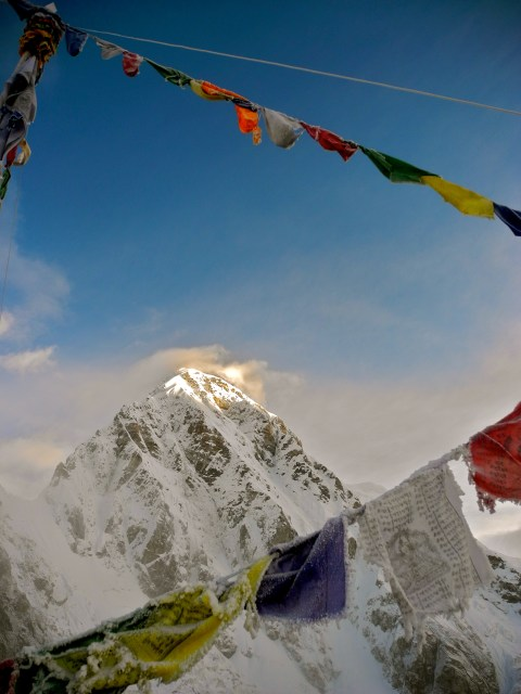 Mt Everest From the top of Kala Patthar at 5643m above sea level. The most spectacular view and the highest point i'll ever set foot!