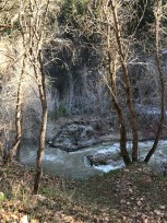 The sulfur smelling river