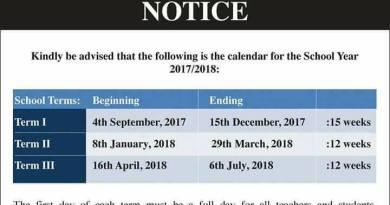 School dates 2017 to 2018
