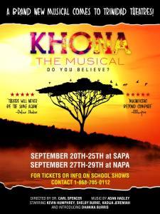 Khona the Musical - SAPA @ SAPA | San Fernando | San Fernando | Trinidad and Tobago