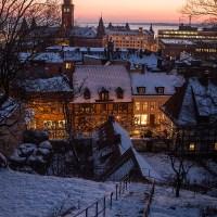 Vinterkväll i Helsingborg