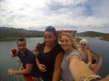 Krka National Park Boat Skradin