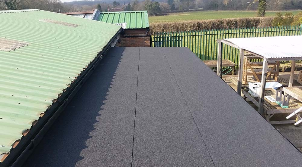 Commercial flat roof East Grinstead