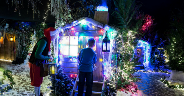 Brookside Garden Centre best places to see Father Christmas in Kent