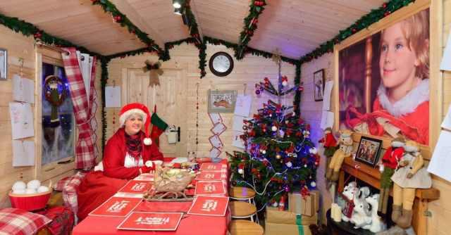 Tunbridge Wells Ice Rink Father Christmas