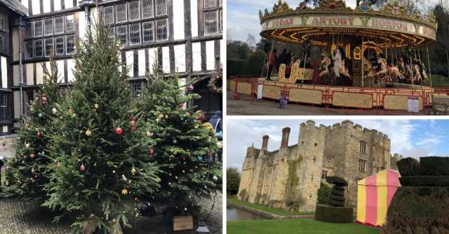 8 reasons to visit Hever Castle and Gardens at Christmas