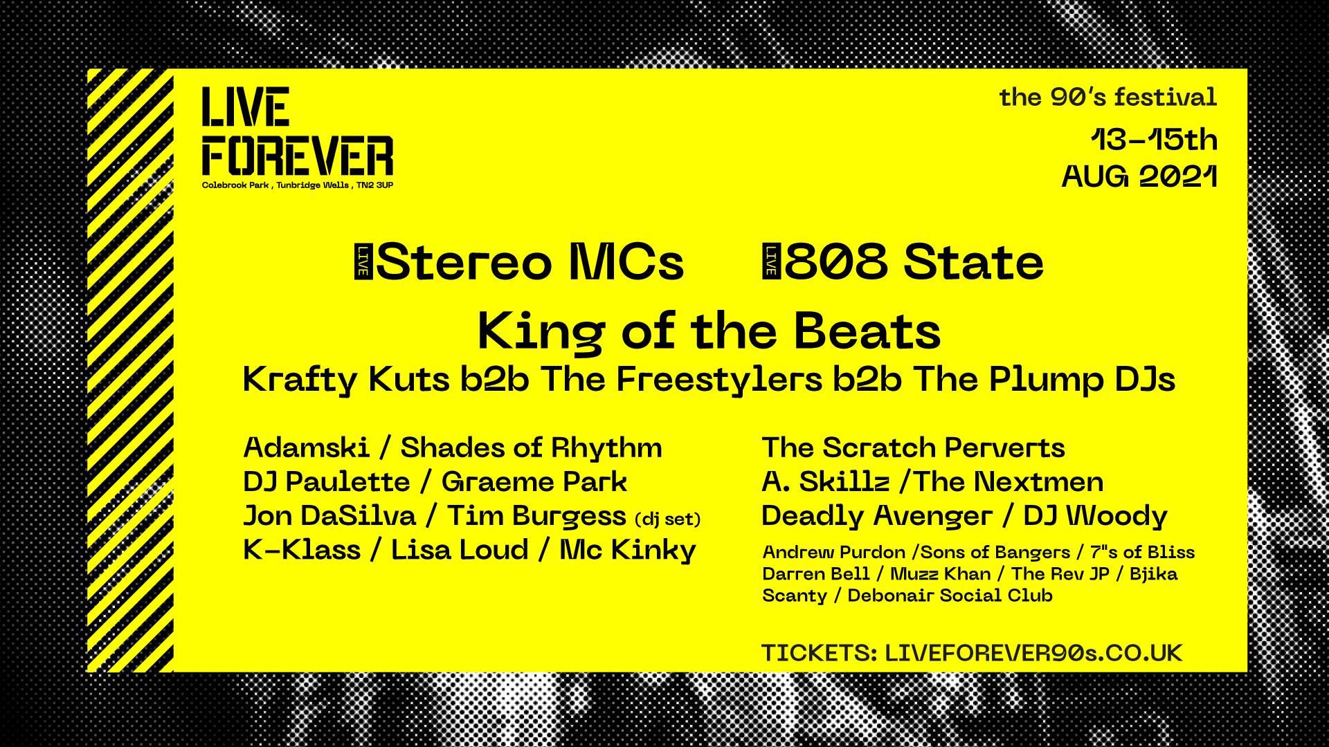 Live Forever 90s Festival