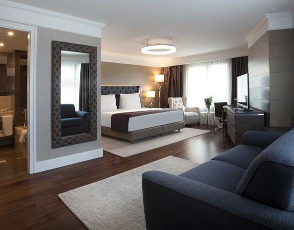 مساحة غرف فندق راديسون شيشلي