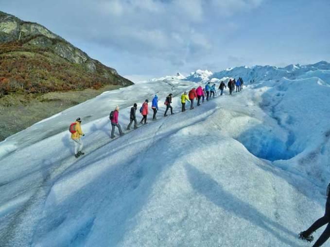 perito moreno glacier mini trekking