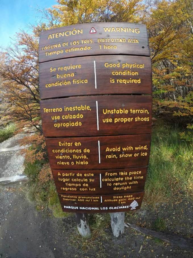trek-warning