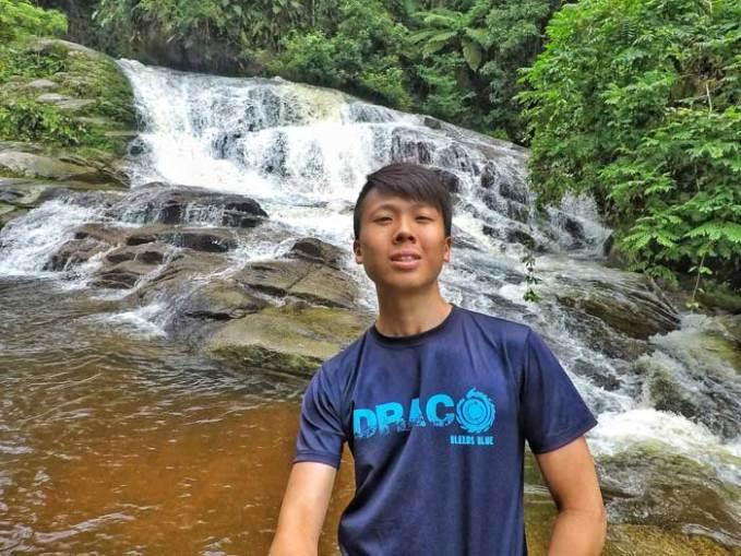 piedra branca waterfall