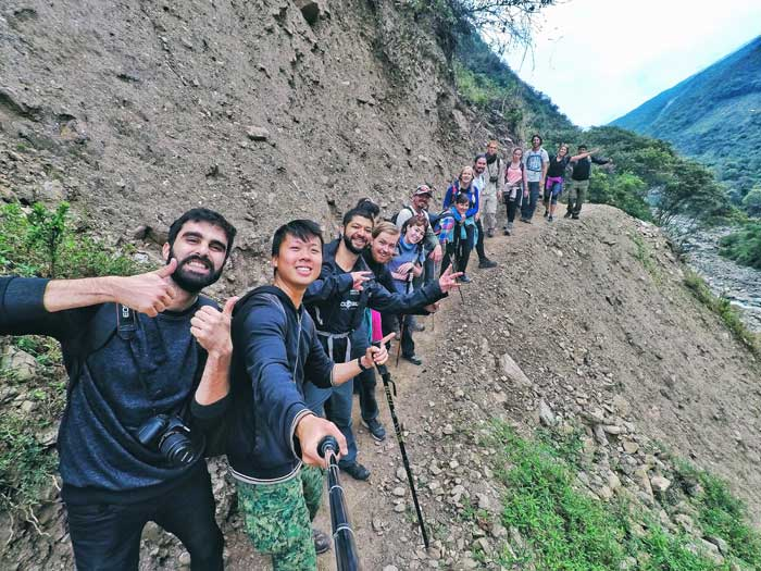 trekking-group