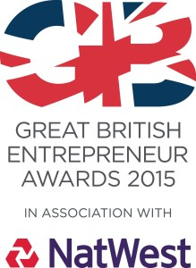 Great British Entrepreneur Awards 2015 logo