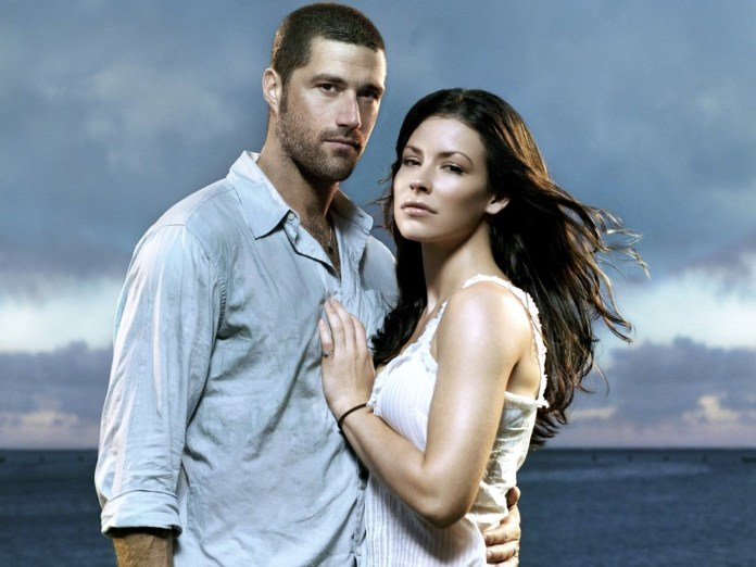 Mathew Fox and Evangeline Lilly - I'm just rewatching Lost and their chemistry is over the top. I want them to get their own show and be that shows MerDer.