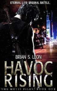 Brian S. Leon, mythic urban fantasy novelist