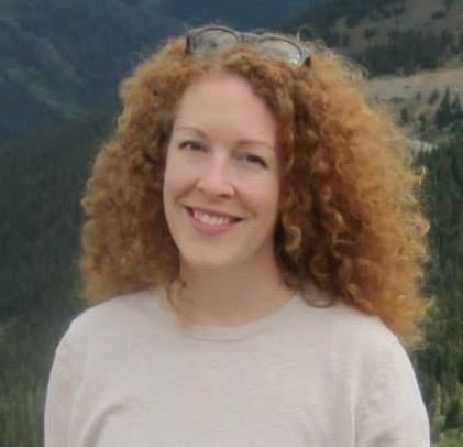 Photo of Meghan in the Rockies