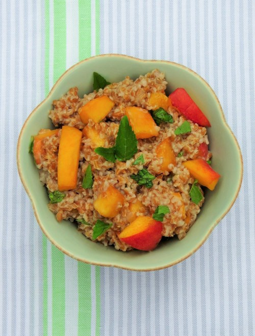 Peach and Mint Bulgur Salad (2)