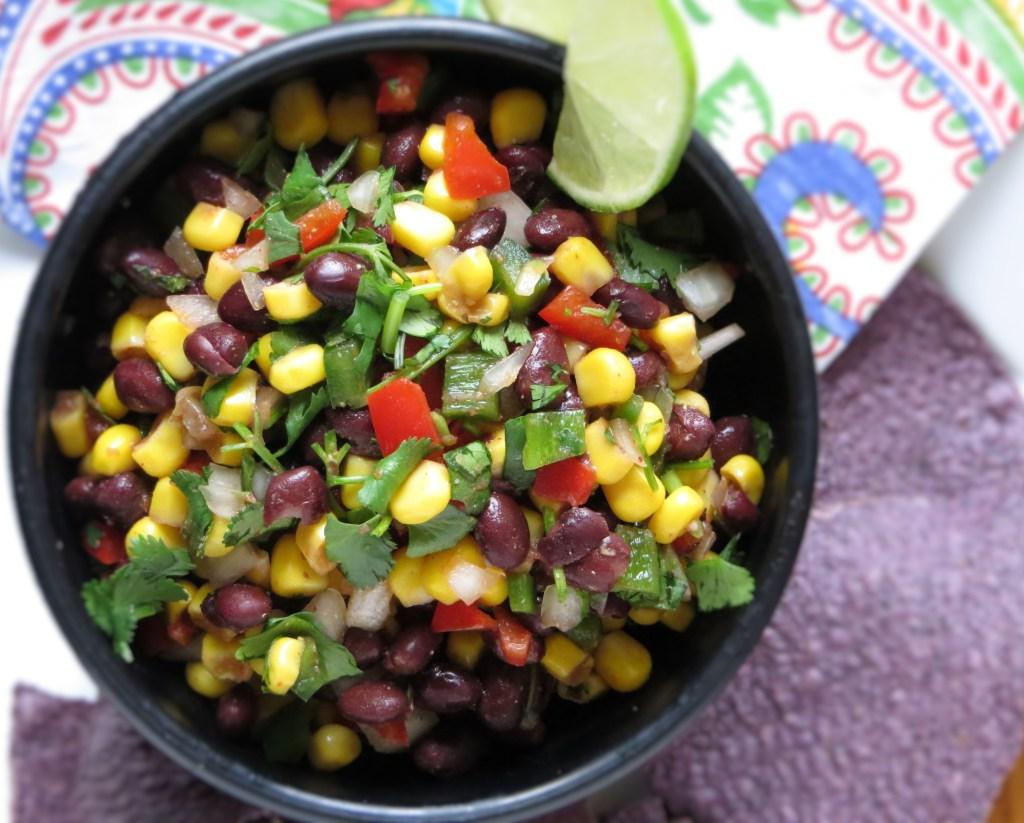 Southwestern Black Bean and Corn Salsa