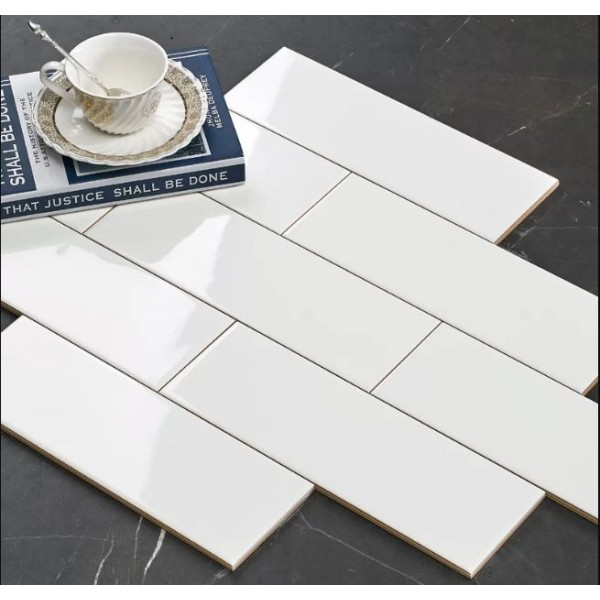 offer 100x300mm subway tile white 4x12 inch glossy