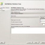 Mailbox database copy