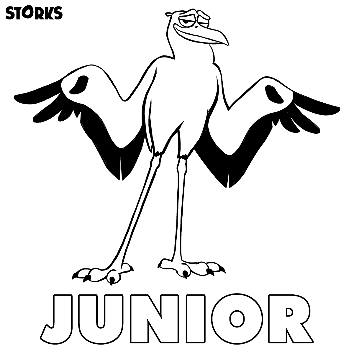 Storks Movie Review And Printable Worksheets