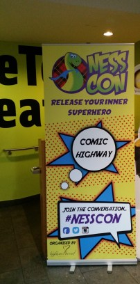 Comic Highway sign to OneTouch Theatre