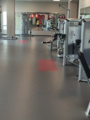 I love the empty gym!