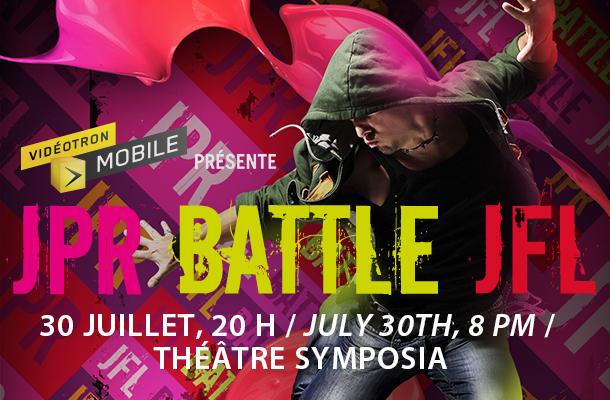 JPR BATTLE JFL 2016 fête son 15ième anniversaire! PROMO SUR LES BILLETS!!!!