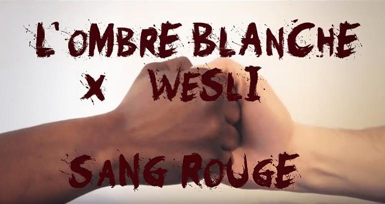 SANG ROUGE est le tout nouveau vidéoclip de L'Ombre Blanche en collaboration avec l'artiste Wesli.