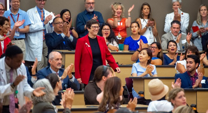 Laura Mosqueda fights for social justice and cares the vulnerable as she leads Keck School of Medicine of USC into a new era