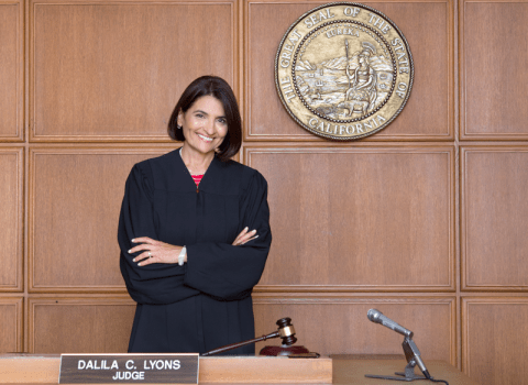 Judge Dalila Corral Lyons | PHOTO BY NOAH WEBB