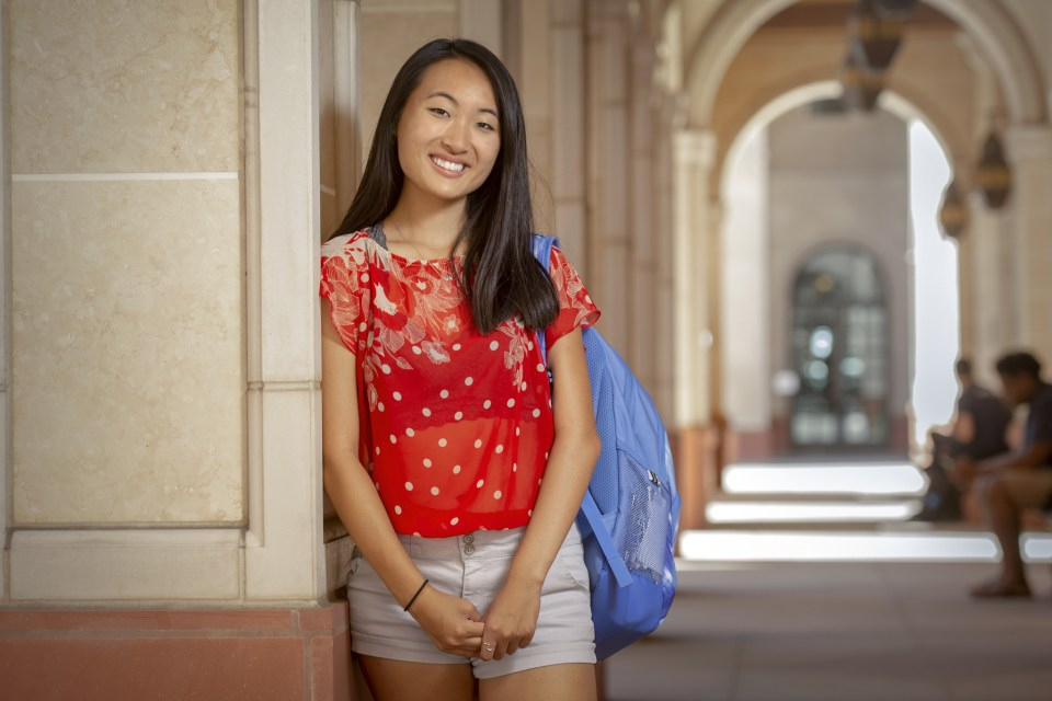 Leily Zhu (USC Photo)