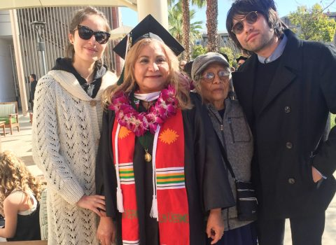 Determination and grit helped this 59-year-old finally earn her master's
