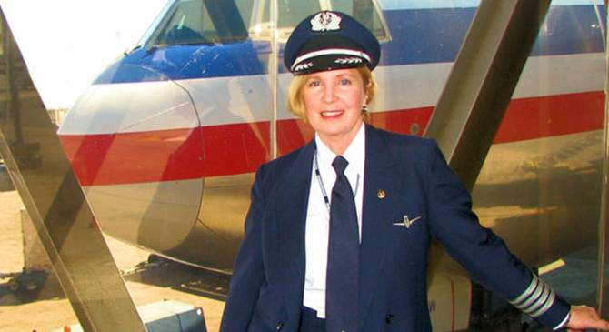The First Woman to Fly a 747 Keeps Breaking Barriers