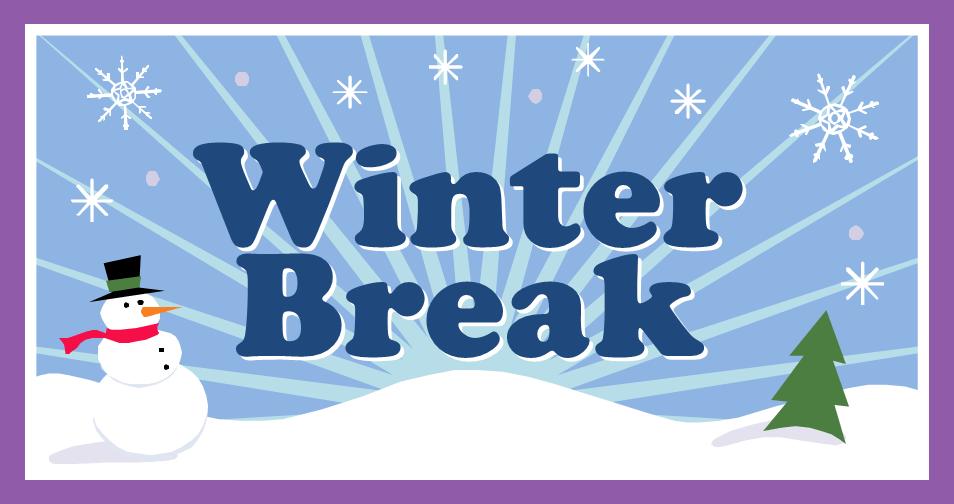 Christmas Break.Winter Break Checklist University Visitors Network