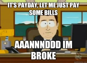 paying your bills