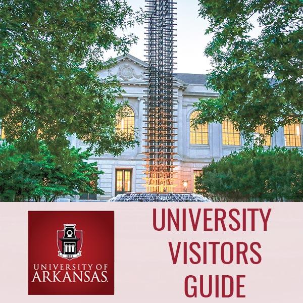UARK Visitors Guide Website