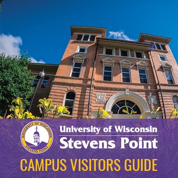 UWSP Visitors Guide Website