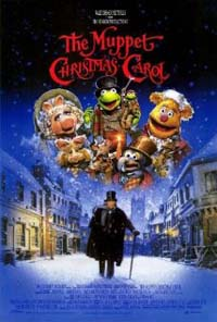 Muppet Christmas Carol movie cover