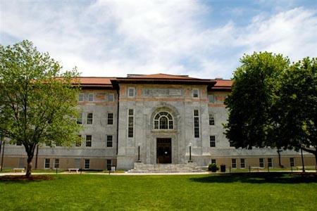Outside Candler Library – Emory University