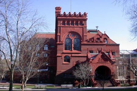 Outside Fisher Fine Arts Library – University of Pennsylvania