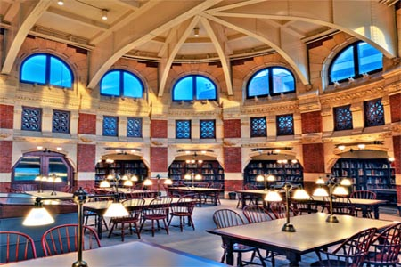 Inside Fisher Fine Arts Library – University of Pennsylvania