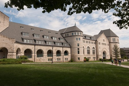Outside Hale Library – Kansas State University